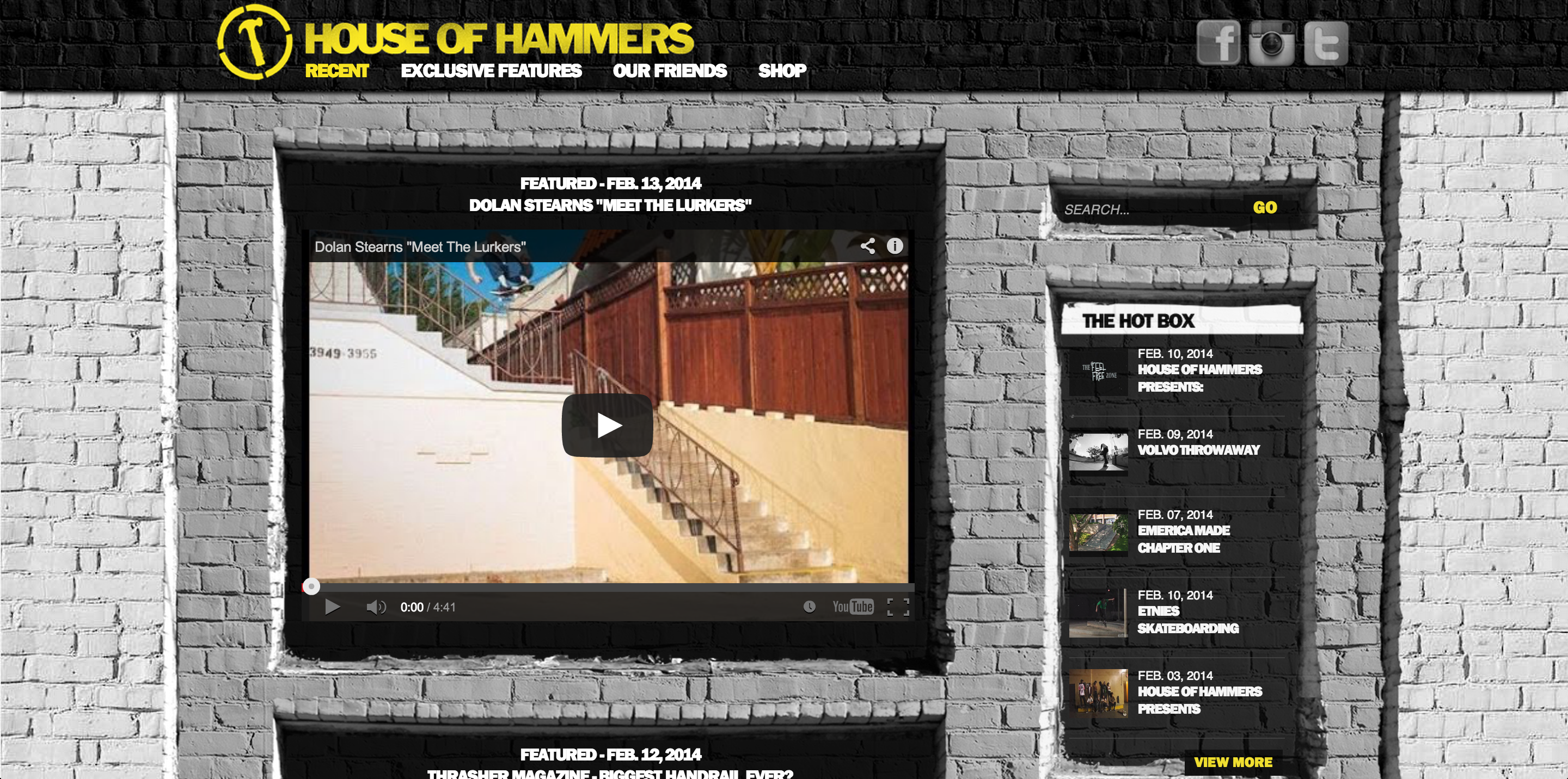 House of Hammers - Work